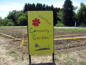 Hamilton Community Garden