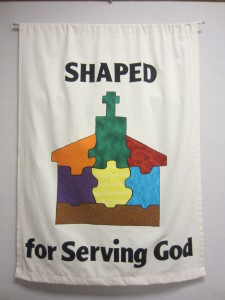 Shaped for Serving Banner