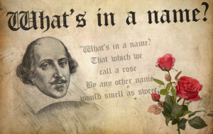 Shakespeare name